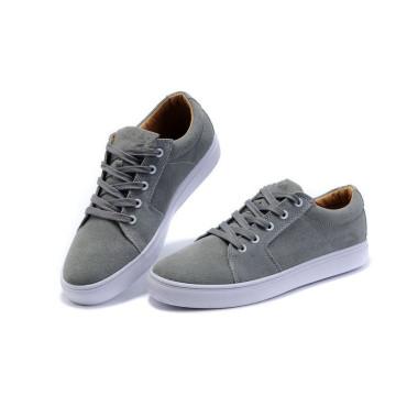 Grey Men Shoes Classical Skateboard Shoes