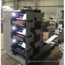 Machine d'impression flexographique de 3 couleurs