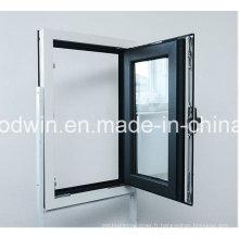 Double vitre en verre double vitre en aluminium à double couleur