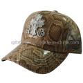 Shinning Fake Leather Fabric Custom Broderie Trucker Hat (TMT1917)