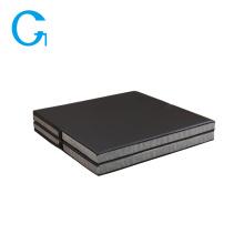 Мягкий черный коврик для гимнастики Crash