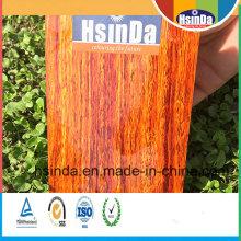 Ökonomische Wärmeübertragung Wood Effect Powder Coating