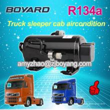Type de compresseur cc 12/24 volts a / c compresseur refroidir les cabines dormantes climatiseur voiture 12v cc climatiseur chauffe-eau solaire