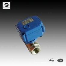 12v 24v 110v 220volt válvula de solenóide elétrica nominalmente fechada para equipamentos de água