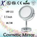 8.5′′ freistehende LED Tisch Kosmetikspiegel (Sensor, Touch-Schalter)