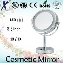 8.5′′ LED autônomas cosméticos tabela espelho (Sensor, interruptor de toque)