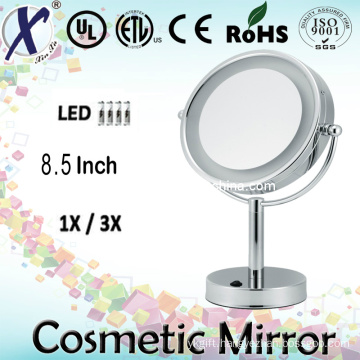 8.5′′ Freestanding LED Cosmetic Table Mirror (Sensor, touch switch)
