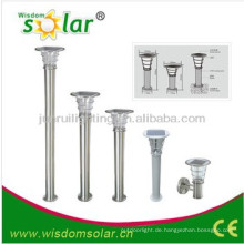 Verkaufsfähigen CE solar Gartentor Park leicht mit Pir esl-08, Outdoor-Garten solar Lichtsäule Licht, solar light(JR-2602)