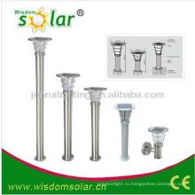 Продаваемая CE солнечных садовых ворот парка света с ПИР esl-08, открытый сад света солнечной столба света, солнечной light(JR-2602)