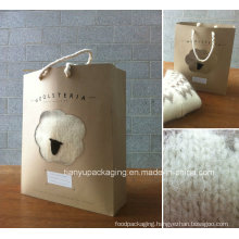 Different Kraft Paper Handle Shopping Bag