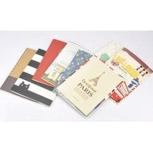 Cuaderno de tapa blanda promocional con precio barato