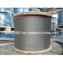 Corda de fio de SS (AISI304, 316)