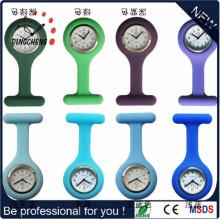 2015 Стиль промотирования силиконовой цифровой медсестры часы / силиконовые медсестры часы (DC-129)