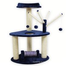 Plataforma de la plataforma de rampa rascadora Sisal Cat