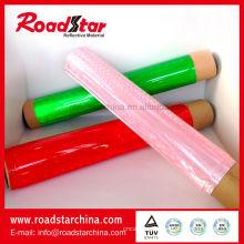 Rouleaux d'éclat prismatique PVC pour tambour ruban