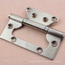 Charnière de porte en bout en acier inoxydable 304 de haute qualité