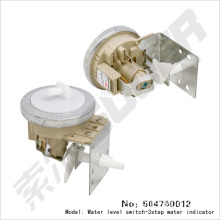 Washing machine water lever switch-three step water indicator