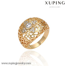 13403 Chine Wholesale Xuping Fashion élégant 18K or perle femme bague