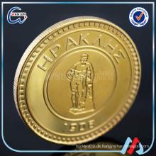 Goldplatte Münzen