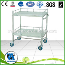 BDT202A Factory direct sales stainless steel instrument trolley