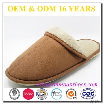 European bedroom winter slippers with nice style