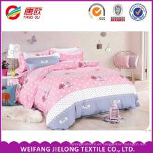 Tejido de cama de algodón 100% algodón grueso