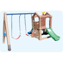 Simple Play Set Combined Slide y Swings