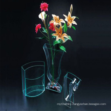 Acrylic Flower Vase in Different Shapes, High Quality Perspex Vase