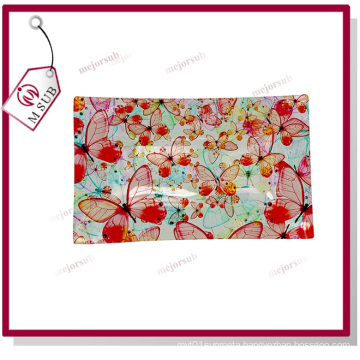 Customized Sublimation Glass Plates with Designs