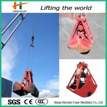 Pedra rotativa hidráulica agarra com flexibilidade operacional