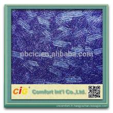 PVC décorative papier peint/PVC cuir décoratif avec Metallic