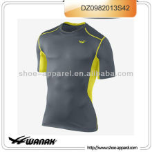 2014 New design wholesale youth compression shirts
