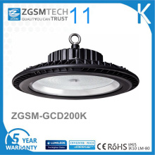 UFO Design 125lm / W IP65 LED High Bay Light 200W