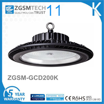 UFO Design 125lm/W IP65 LED High Bay Light 200W