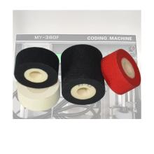 Hot ink roll 36mm Height 16mm  hot black ink roller for sealer machine