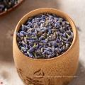 Chá de flores secas de lavanda natural orgânica