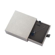 Caixa de gaveta de jóias Caixa de conjunto de jóias de pingente de colar