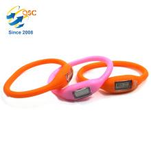 Customized logo silicone wristband watch Athletic