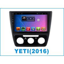 Android carro DVD tela de toque para Yeti com carro GPS / navegação de carro