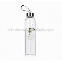 Werbungs-Siegel-hitzebeständige Sport-Wasserflasche mit Edelstahl-Schraubendeckel