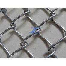 Electro galvanizado malla de cadena enlace con precio bajo