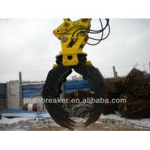 La pinza hidráulica TAKEUCHI TB1135 TB1140, el accesorio para excavadora, la grapa para madera
