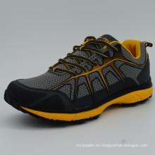 Buen diseño hombres zapatos deportivos zapatos de senderismo
