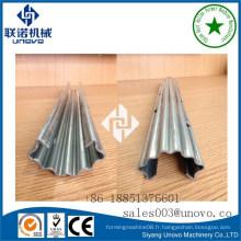 C-type Steel Galvanized Vineyard Post