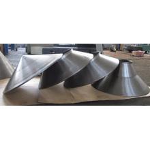 Professionelle Metallteil-Fabrik, die Teile für das Metallspinnen entwirft