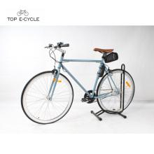 New model trendy fixed gear city single speed electric bike