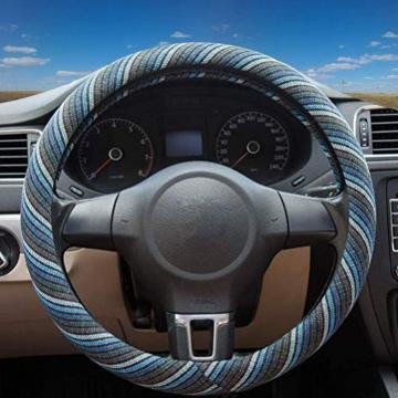 Acessórios para carros capa de volante de carro real madri