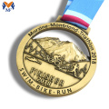Custom made metal running race finisher medals