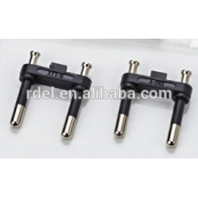 Best selling product in Europe vde plug insert european 2 pin plug insert