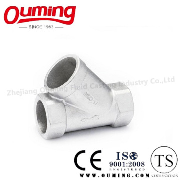 Stainless Steel Sanitary Thread Y-Type Strainer (Y-formal filter)